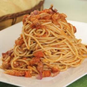 Pasta Amatriciana Final