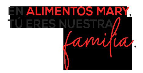 Tu eres nuestra familia