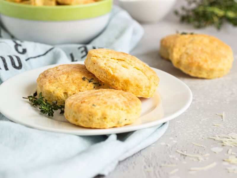 Galletas con Aceite de Oliva y queso parmesano