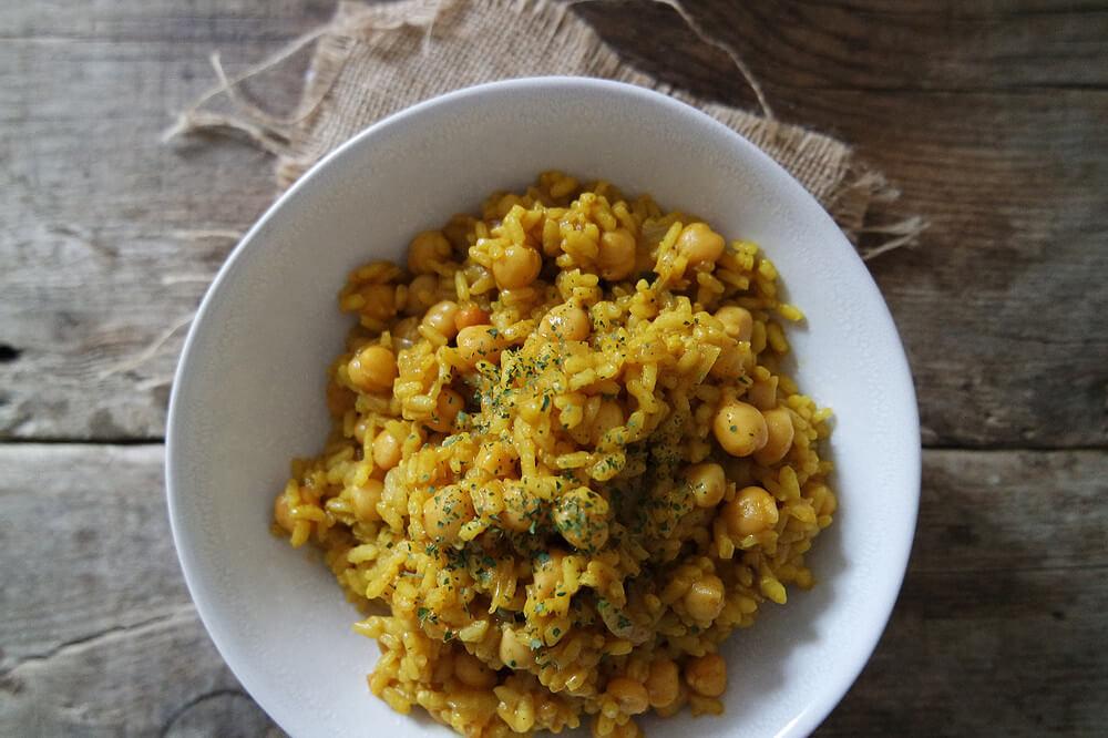 arroz-curry-garbanzos