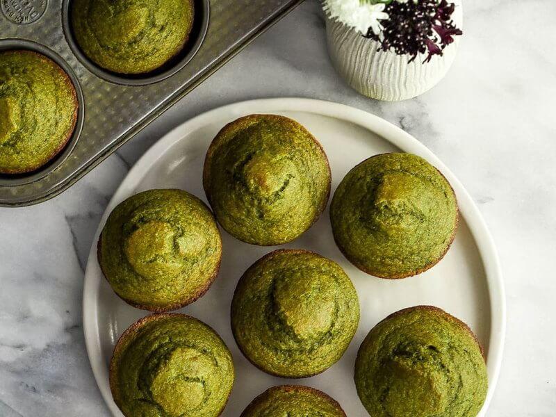 Muffins de Arvejas con jamón